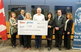 Yukon Chamber of Mines auction raises record-setting amount to support the Yukon Imagination Library